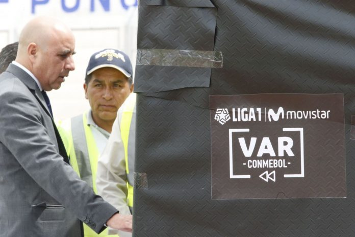 Liga 1-VAR / Foto: Andina