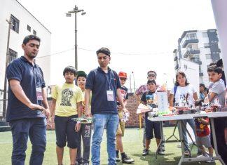 Taller de manejo de drones en Pueblo Libre