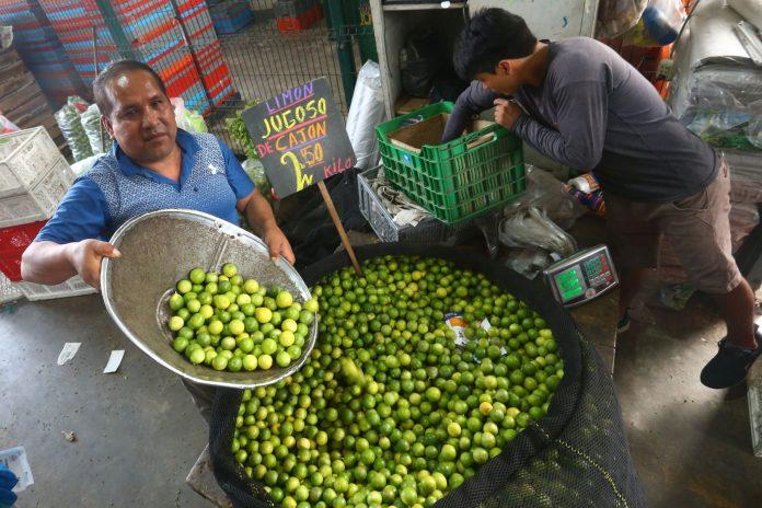 Mercado limeño / Foto: Andina