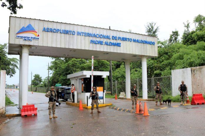 Aeropuerto Internacional de Puerto Maldonado Padre Aldamiz