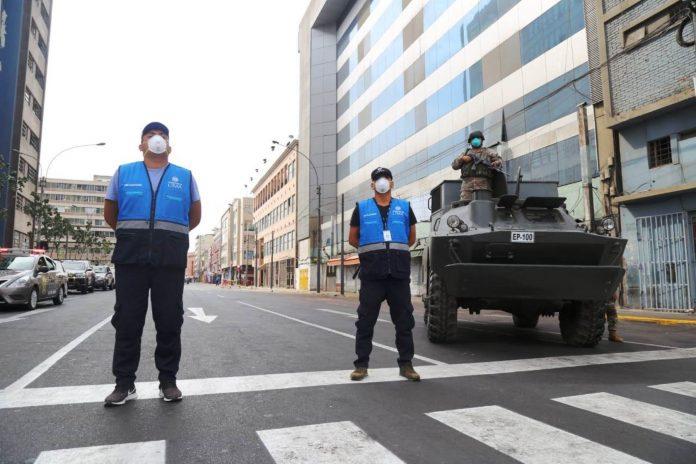 Más de 400 agentes de Fiscalización de la Municipalidad de Lima recorren todas las zonas del Cercado