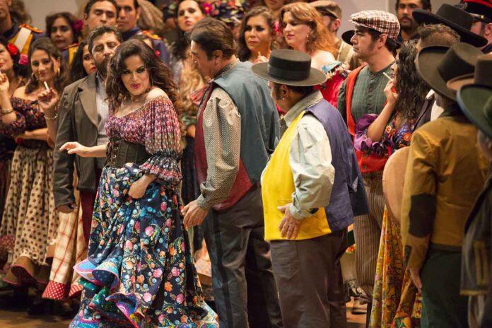 ópera dramática Carmen