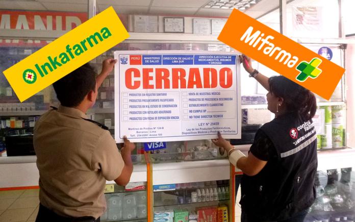 Inkafarma y Mifarma