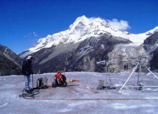 Glaciares peruanos