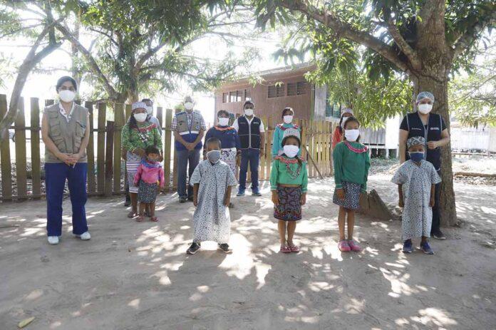 Viceministra de Interculturalidad participó en la entrega de concentradores de oxígeno en beneficio de 416 localidades indígenas
