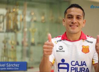 Axel Sánchez, volante del Atlético Grau.