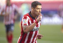 Debut de Luis Suárez en el Atlético de Madrid / Foto: La Liga