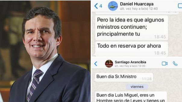 Incháustegui, Santiago Arancibia y Daniel Huarcaya