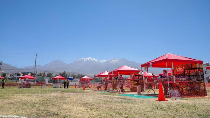 Reactivación económica en Arequipa.