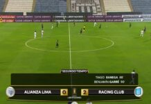 Alianza Lima vs. Racing