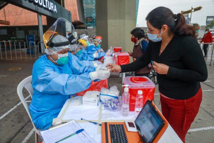 Coronavirus en Perú.