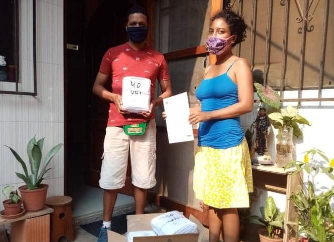 Las acciones de distribución se realizaron a través de los colectivos de sociedad civil inscritas en el Registro de Organizaciones Afroperuanas (ROA) del Sector.