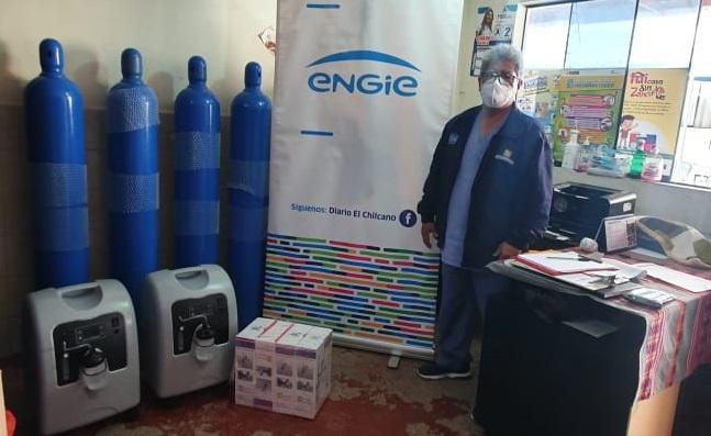 A esta donación se suman 4 equipos médicos para la producción de oxígeno concentrado para atender pacientes con Covid-19.