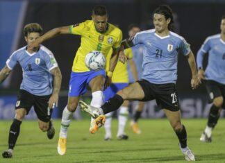 Tabla eliminatorias sudamericanas rumbo a Qatar 2022