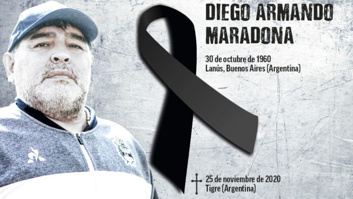 Murió Maradona