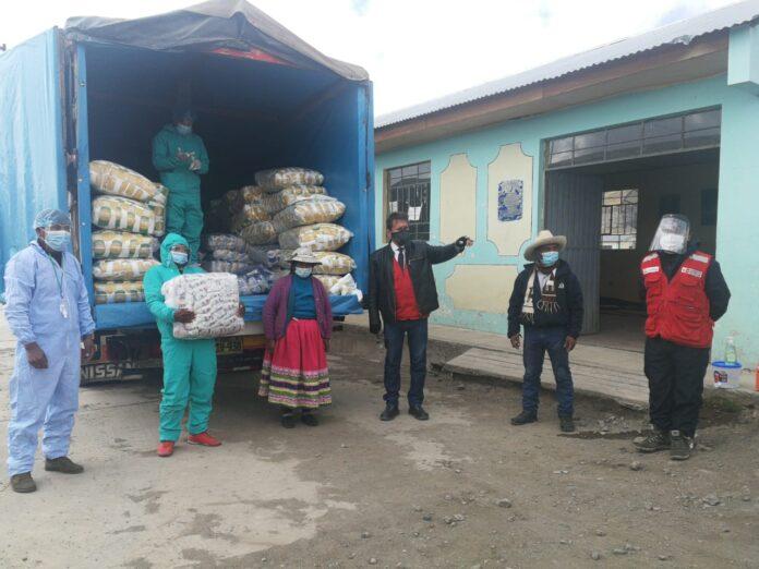 Se beneficiarán a familias de Apurímac, Arequipa, Ayacucho, Cusco y Huancavelica, como parte de la Estrategia Multisectorial para la protección de los pueblos indígenas u originarias ante el COVID-19.