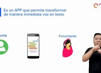 """La aplicación """"PEDIUS"""" permite convertir texto en voz y viceversa para facilitar la comunicación entre asesores de servicio y clientes."""