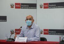 Ministro de Economía y Finanzas, Waldo Mendoza.