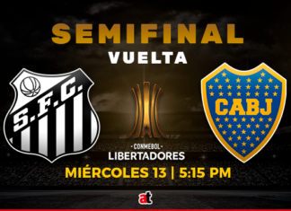 Santos vs. Boca
