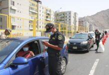Operativo policial durante la nueva cuarentena