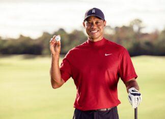 Tiger Woods - Foto vía Twitter: Tiger Woods