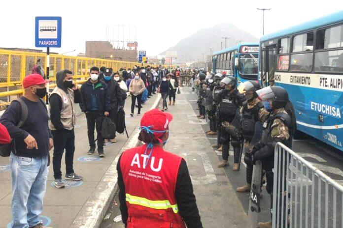 Paro de transportistas Lima y Callao