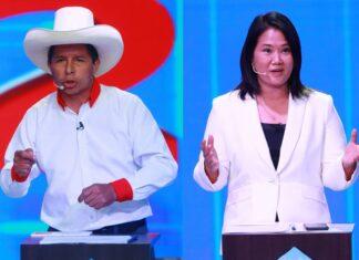 Pedro Castillo - Keiko Fujimori