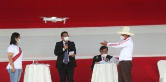 Debate presidencial entre Pedro Castillo y Keiko Fujimori / Foto: Andina