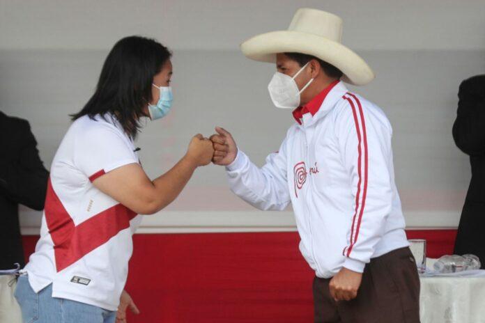 Segunda vuelta electoral entre Pedro Castillo y Keiko Fujimori