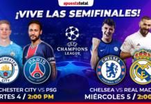 Semifinales de la Champions 2021