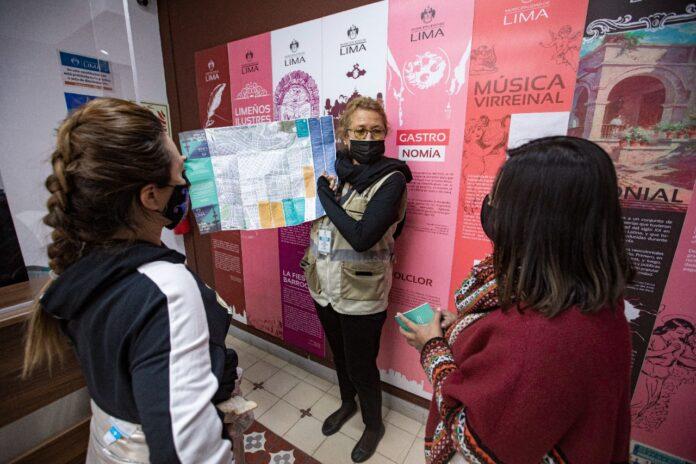 OFICINA DE INFORMACIÓN TURÍSTICA DE LA MUNICIPALIDAD DE LIMA