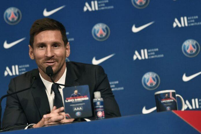 Presentación de Messi en el PSG