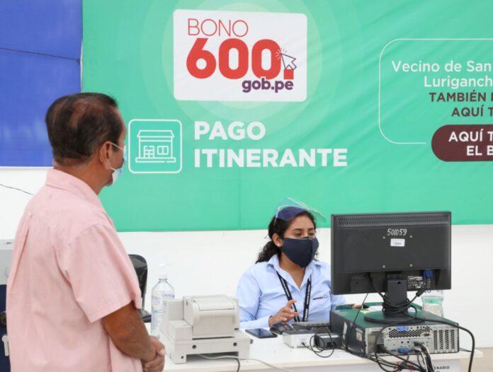 Bono 600