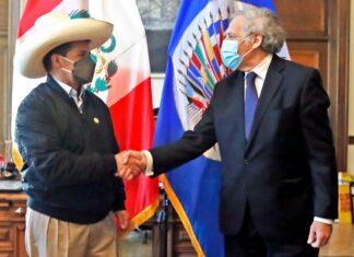 Pedro Castillo y Luis Almagro
