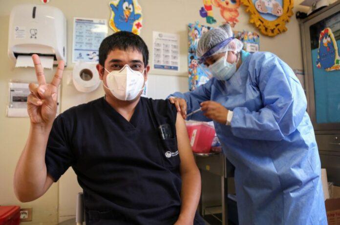 Vacuna de refuerzo - Personal de salud