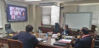 Jorge Salas Arenas, titular de la institución electoral, remarcó que el apoyo de la entidad internacional fue muy importante en las EG-2021